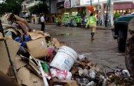 Tras levantamiento de maestros el Gobierno del estado realiza trabajos de limpieza en el centro de Tuxtla Gutiérrez