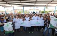 Entregan apoyos para reactivar e incrementar la producción de maíz en Venustiano Carranza