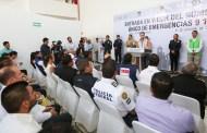 Con el 911 se trabaja cerca de la ciudadanía para que Chiapas siga siendo el estado más seguro: Manuel Velasco Coello