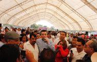 Rutilio congrega a miles, les habla del NSJP