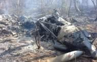 Se derriba Avioneta Pilatus de la Fuerza Aerea Mexicana en territorio Jiquipilteco