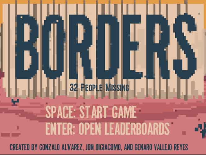 Mexicano diseña videojuego que alerta de riesgos al cruzar de ilegal a EU
