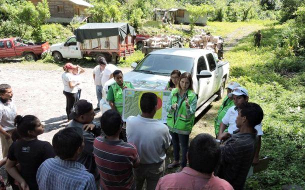 Se fortalece Plan Operativo de Protección Civil del Volcán Chichón