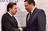 Coinciden Fernando Castellanos y Osorio Chong en la importancia de la profesionalización de los servidores públicos