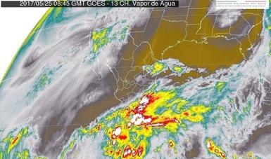 Tormentas muy fuertes se pronostican para regiones de Chiapas