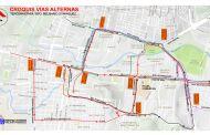 A partir del lunes vías alternas para mejorar tráfico del bulevar Belisario Domínguez