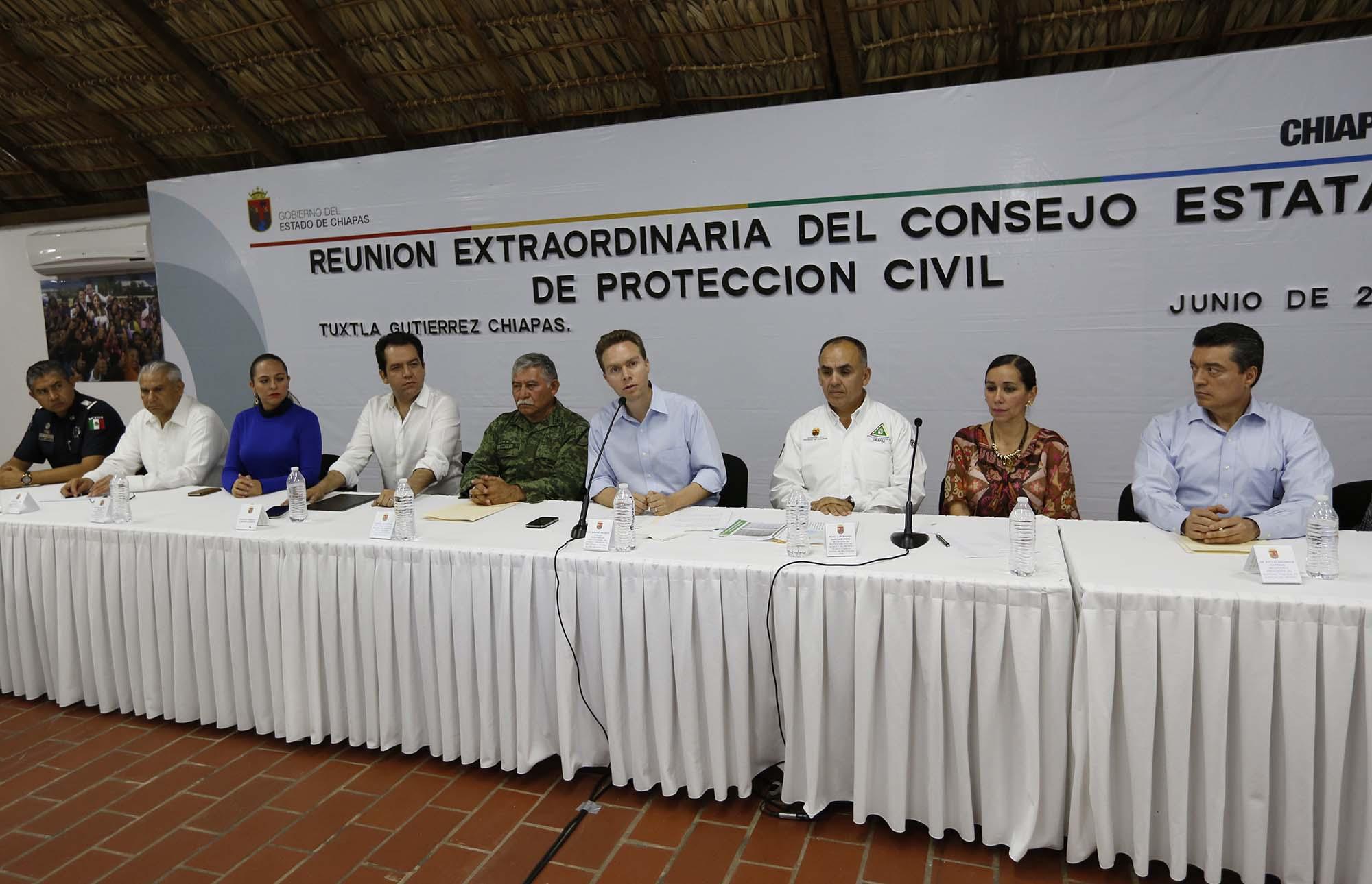 Tras afectaciones por sismo Gobierno de Chiapas solicita Declaratoria de Emergencia ante SEGOB