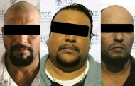 Detiene FGE a tres sujetos por delito de secuestro en grado de tentativa