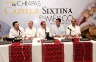 Chiapas recibe la réplica de la Capilla Sixtina del Vaticano