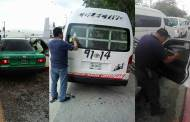 Tránsito Municipal realiza operativo para retirar polarizado a vehículos del transporte público