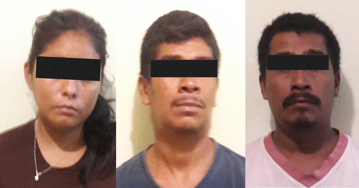 Vinculan a proceso a tres sujetos por Secuestro