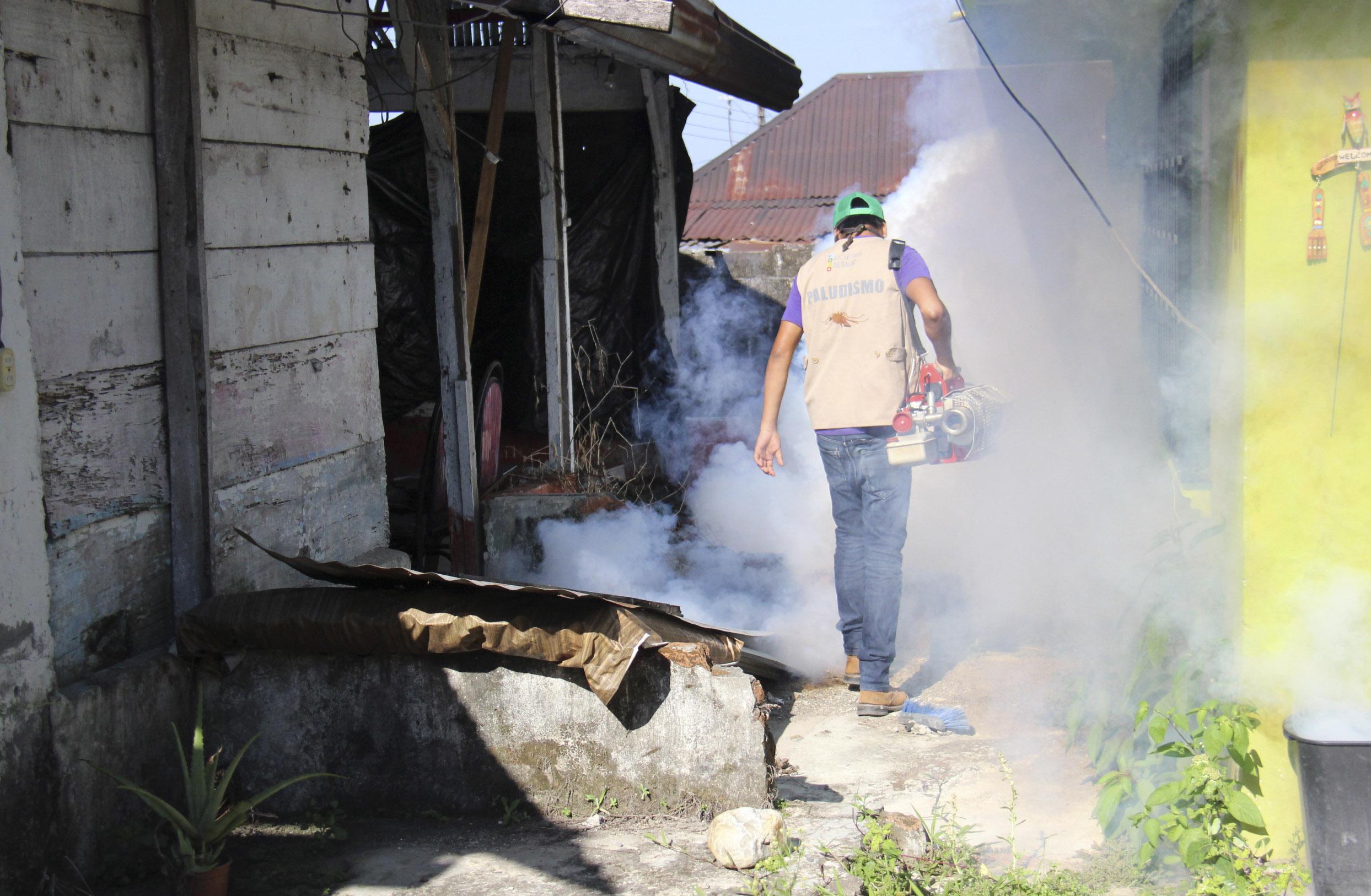 Inicia cuarta aplicación de nebulización para combatir el dengue