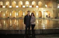 Velasco y su esposa Anahí de Velasco visitan antiguo Palacio del Ayuntamiento sancristobalense