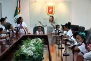 """Niñas y niños de Tuxtla aprenden de turismo con campamento de verano """"Peques turisteando"""""""