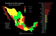 Semáforo Delictivo da a conocer reducción de delitos de alto impacto en Chiapas