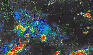 Se prevén tormentas intensas en regiones de Guerrero, Nayarit, Puebla y Oaxaca