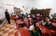 Hoy, un millón 726 mil estudiantes regresan a clases en Chiapas