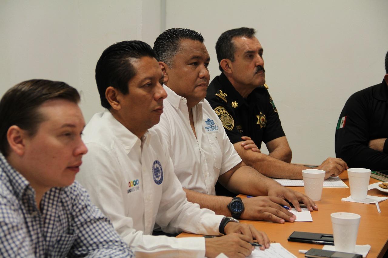 Refuerzan estrategias de seguridad para Tapachula