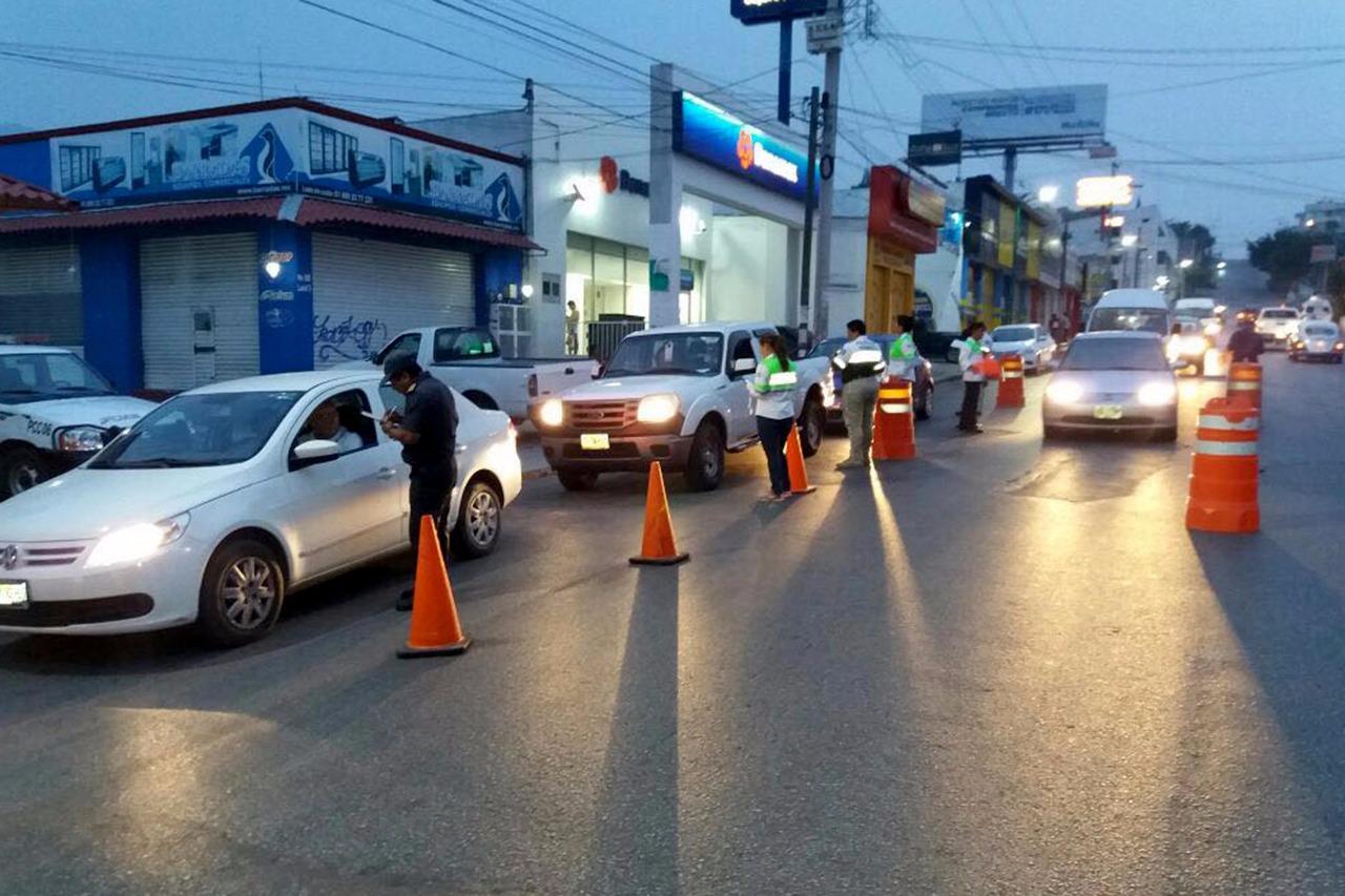 Operativo alcoholímetro aplicó 118 mil 41, pruebas a conductores de Chiapas