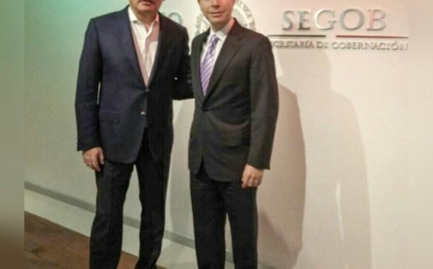 Osorio Chong y Velasco refuerzan prevención del delito