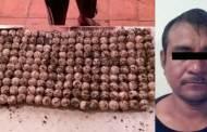 Fiscalía Ambiental detiene a sujeto con 219 huevos de tortuga golfina