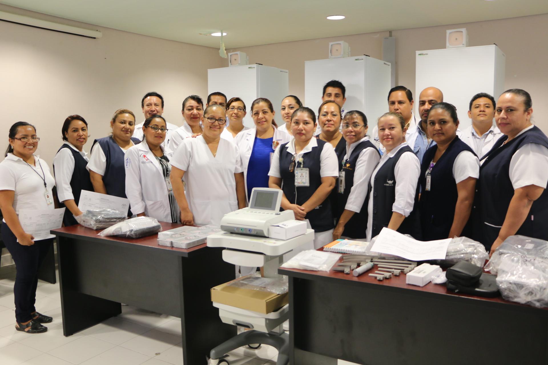 """Se fortalece el Hospital """"Pascacio Gamboa"""" con nuevo equipamiento médico"""