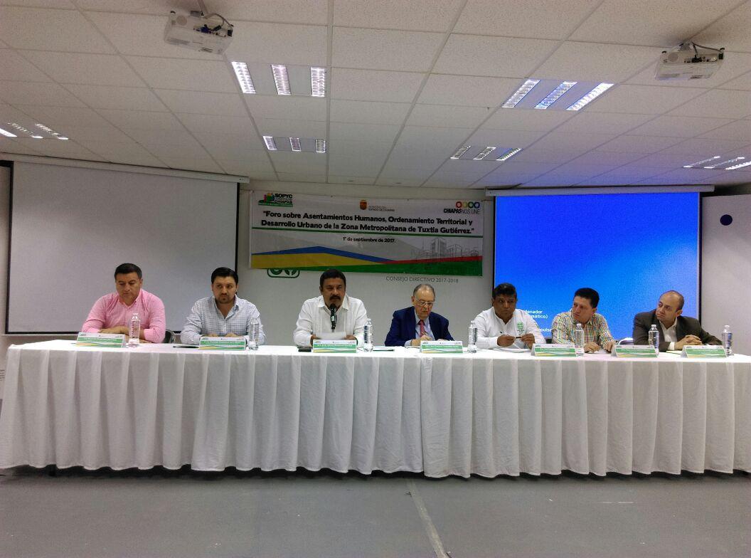 Chiapas ordena su desarrollo urbano y territorial