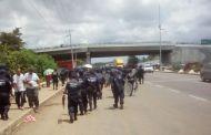 SSyPC restablece libre tránsito en la región Soconusco