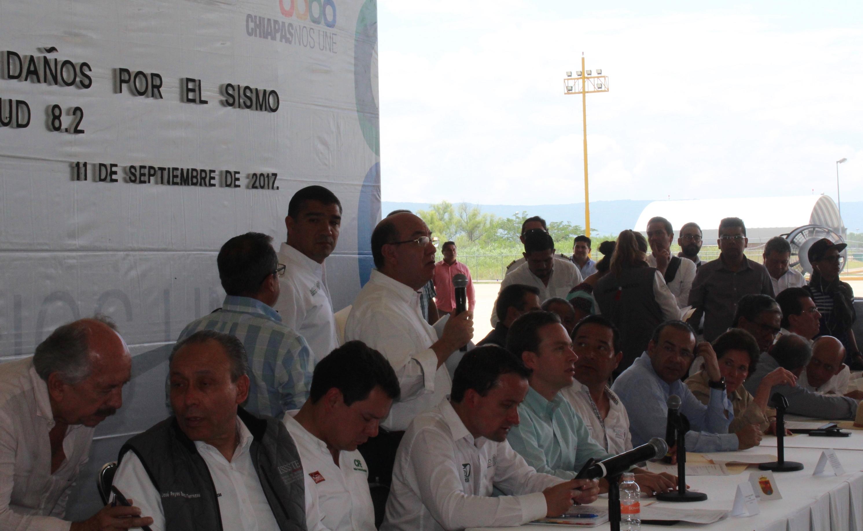 Pensión vitalicia a familiares de víctimas del sismo