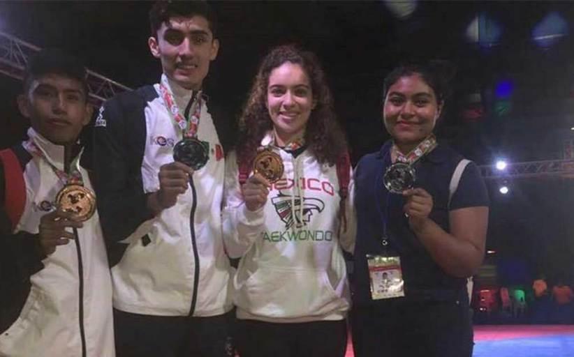 Taekwondoines destacan en Costa Rica