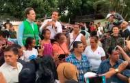 Enrique Peña Nieto realiza recorrido por zonas afectadas en Chiapas