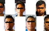 Detiene grupo interinstitucional a seis presuntos integrantes de una banda de asaltantes en Tapachula