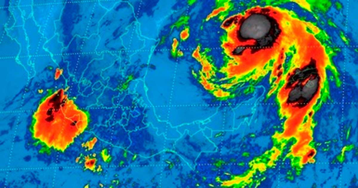 Durante las próximas horas se prevén tormentas intensas en regiones de Sinaloa, Nayarit y Durango