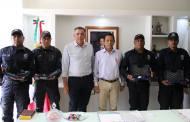 Llaven Abarca entrega armamento a Policía Municipal de Tonalá