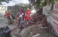 Redobla esfuerzos el Ayuntamiento de Tuxtla en la limpieza de espacios públicos