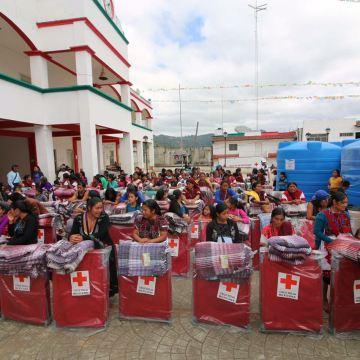 Cruz Roja Mexicana Delegación Chiapas continúa apoyando a los habitantes de Chalchihuitán