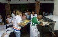 El gobierno de São Paulo, realiza la donación de hornos y capacitación para la elaboración de pan artesanal a población afectada por el sismo
