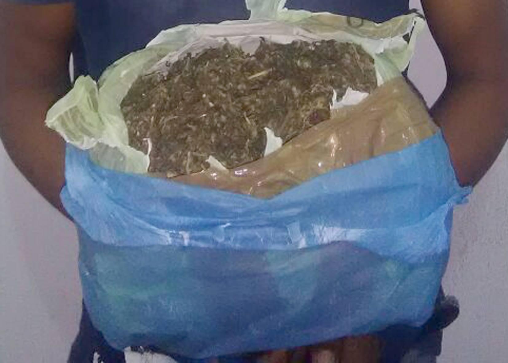 SSyPC detiene a una persona con un kilogramo de marihuana
