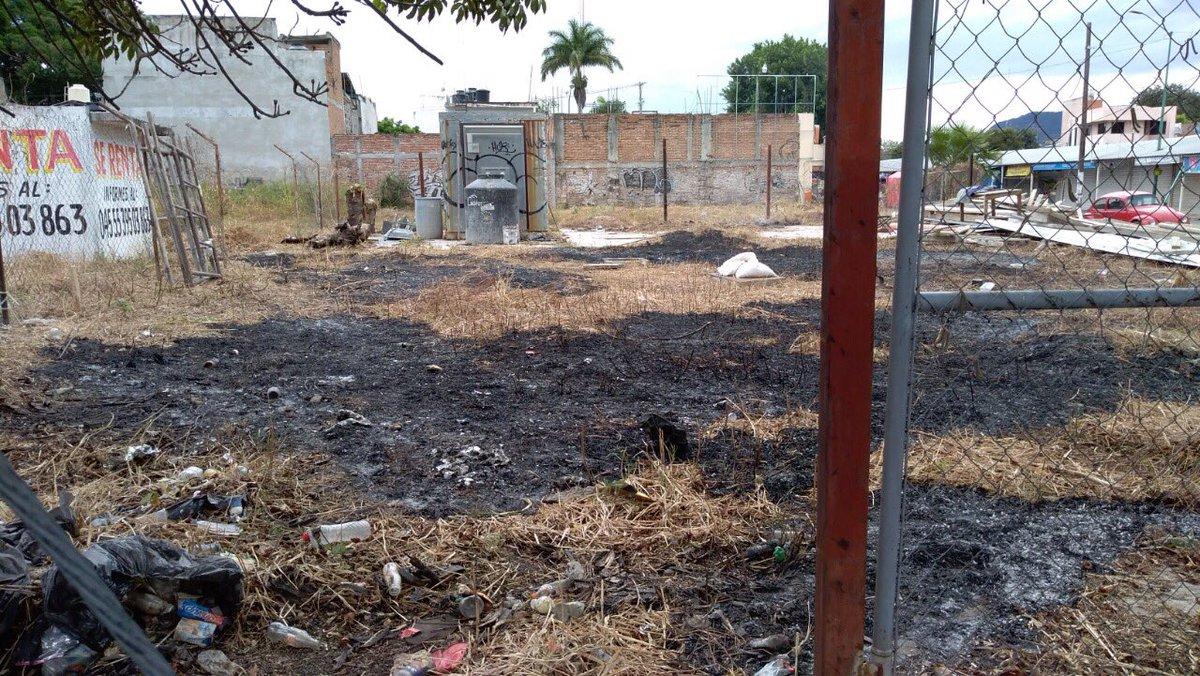 Multas a quien realice quemas en predios o lates baldíos, informa Protección Civil