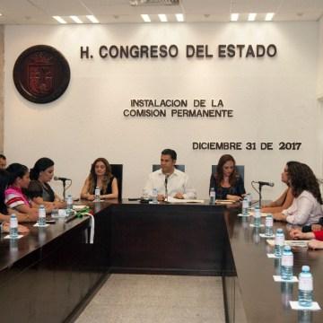 Comisión Permanente da continuidad a trabajos legislativos: Willy Ochoa