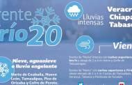Se prevé marcado descenso de la temperatura en el norte, el noreste, el oriente y el centro de México