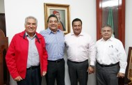 Se reúne Juan Óscar Trinidad Palacios con magistrados penales