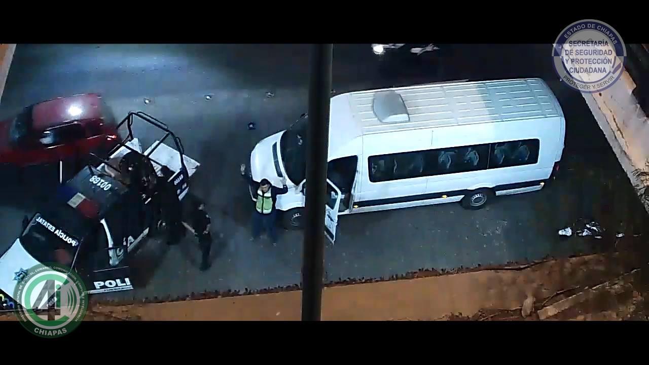 SSyPC detiene mediante el uso de cámaras, a presuntos responsables de robo a Oxxo
