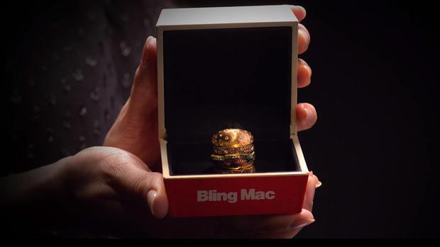 McDonald's crea la 'hamburguesa' más cara del mundo para San Valentín