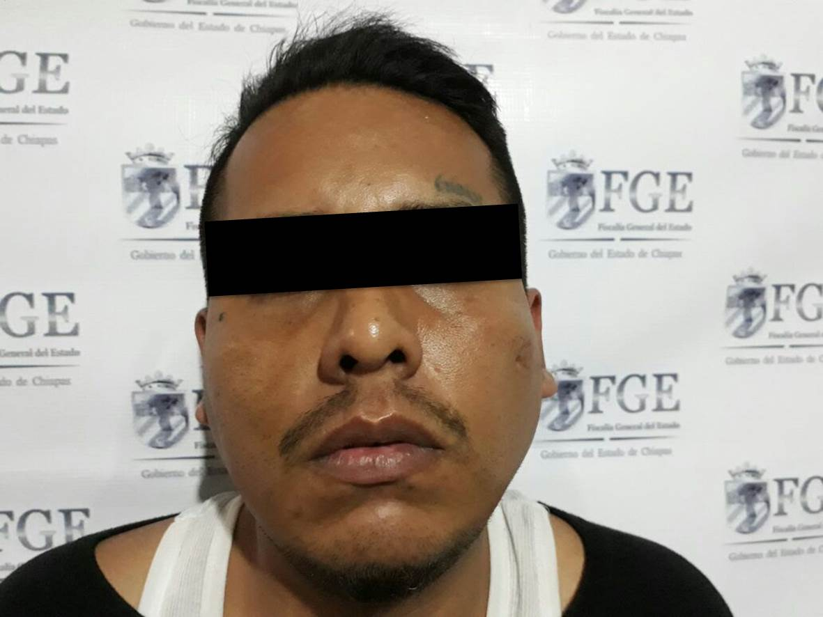 Aprehende FGE a presunto integrante del grupo delictivo Barrio 18 por homicidio en Tapachula