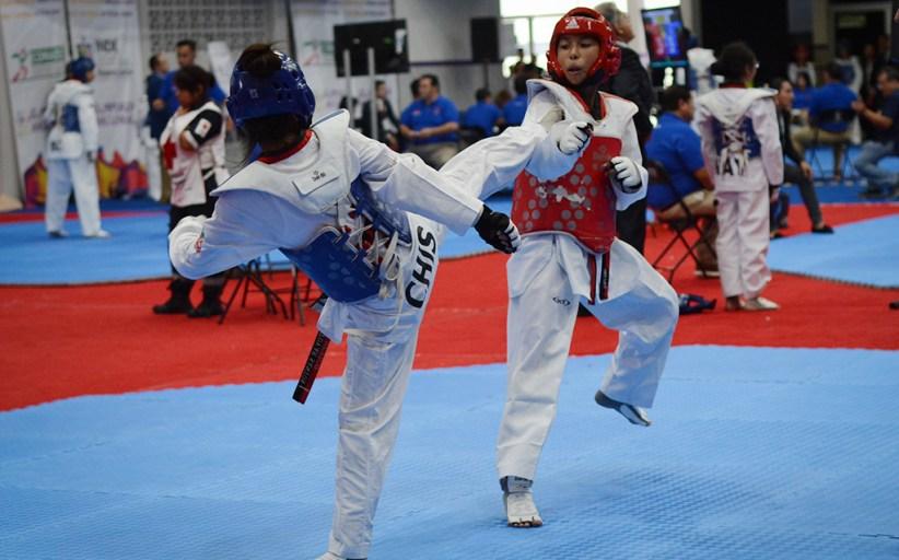 Dominantes en el tatami en el Campeonato Nacional de Taekwondo 2018