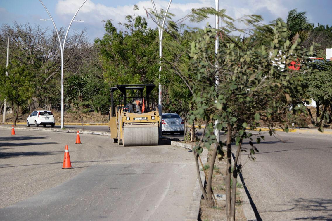 Inician rehabilitación de la Calzada Emiliano Zapata