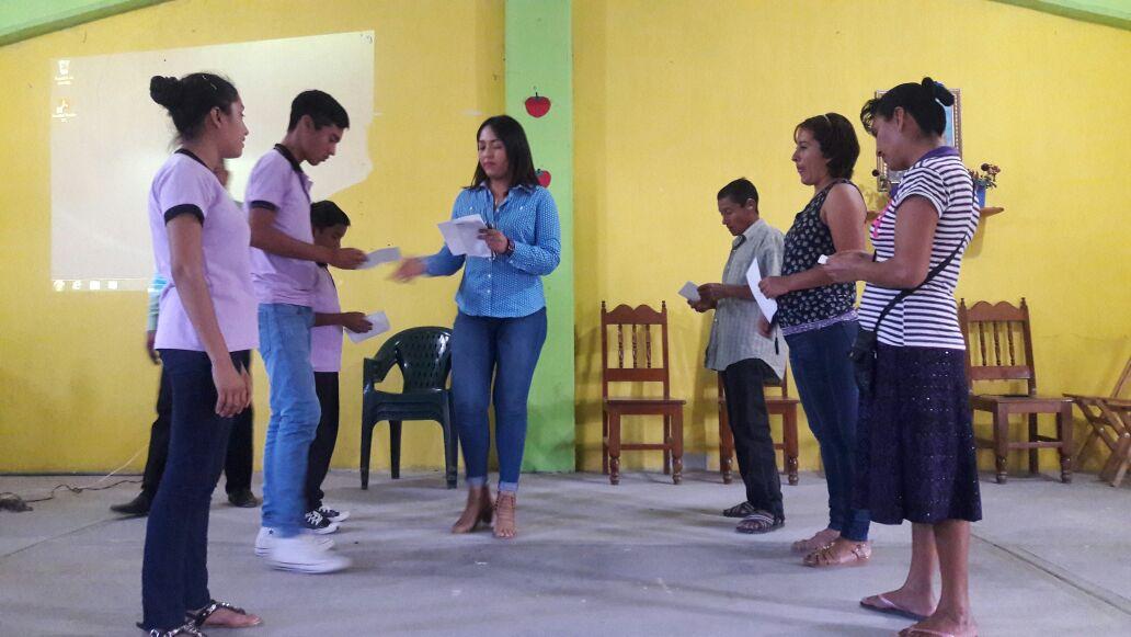 Jóvenes del municipio Suchiapa, son capacitados en temas de prevención