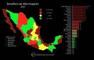 Logra Chiapas baja incidencia delictiva: Semáforo Delictivo