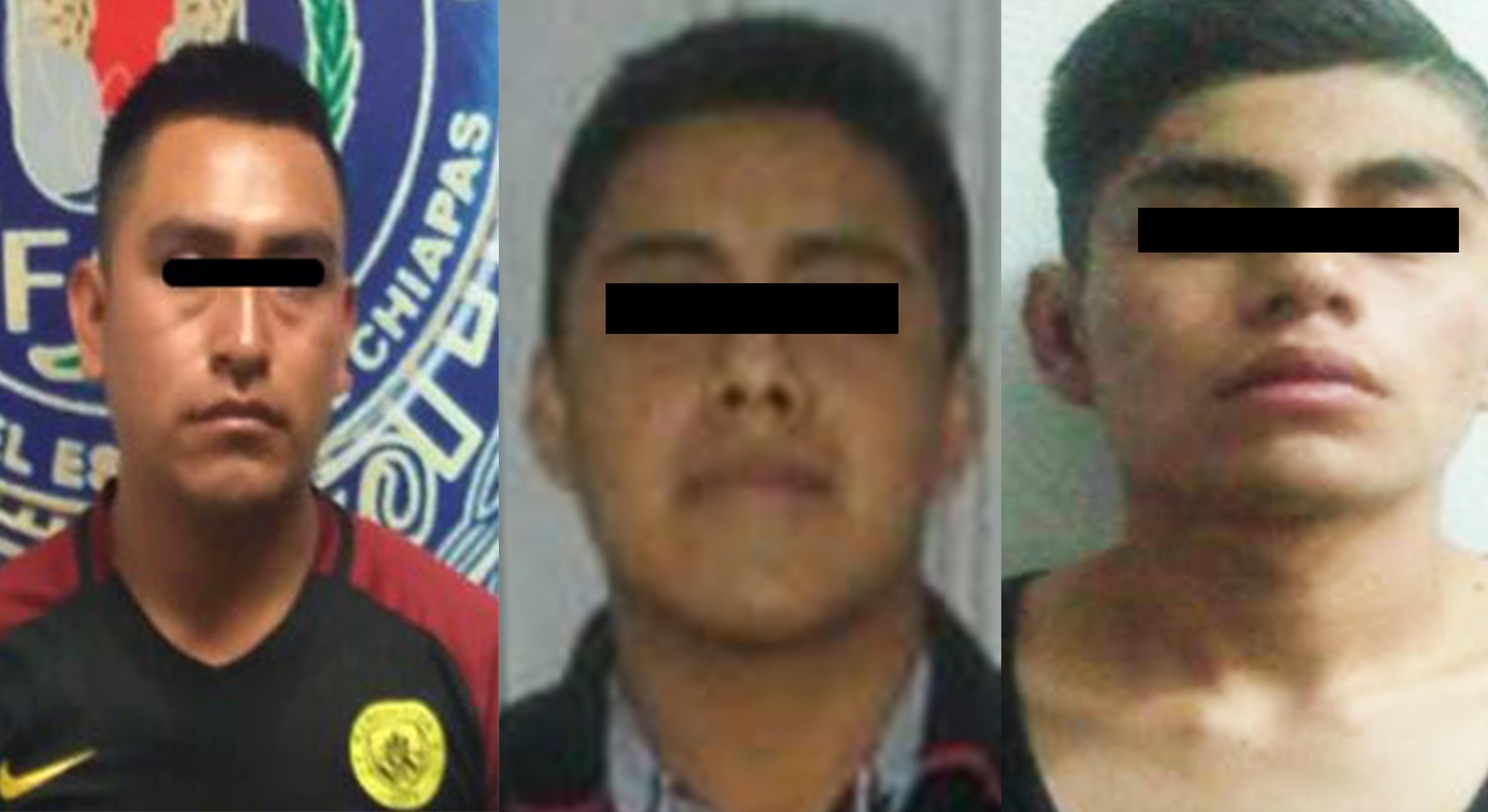 Detiene grupo interinstitucional a tres sujetos por diversos delitos en Tuxtla Gutiérrez